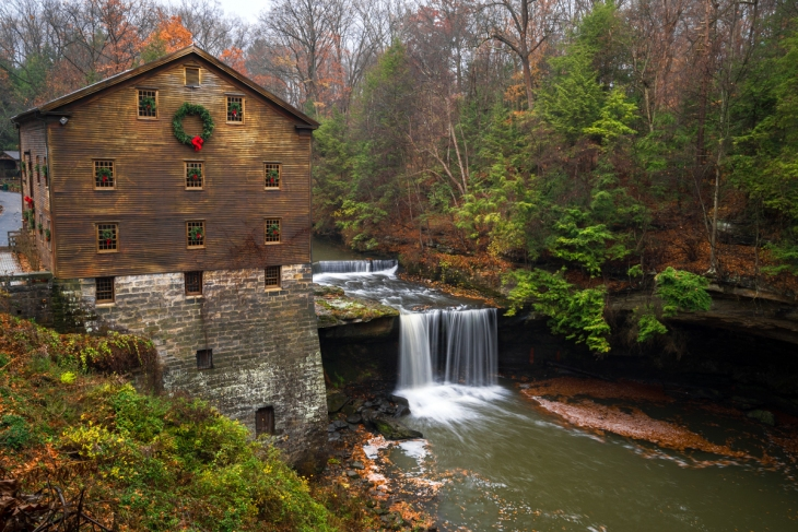Lanterman's Mill park Youngstown Ohio Autumn Winter Mill mill 2017-12-01 at 9.35.38 PM 3