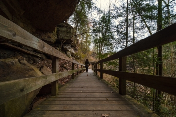 Lanterman's Mill park Youngstown Ohio Autumn Winter Mill Walkways and Trails Boardwalk 2017-12-01 at 9.36.21 PM 3
