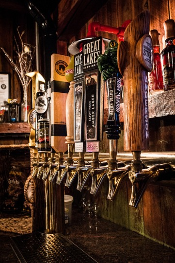 10 beers on tap