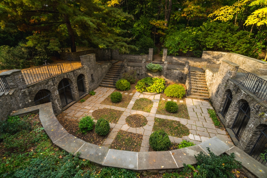 The Beautiful Warner Castle & Sunken Gardens of New York