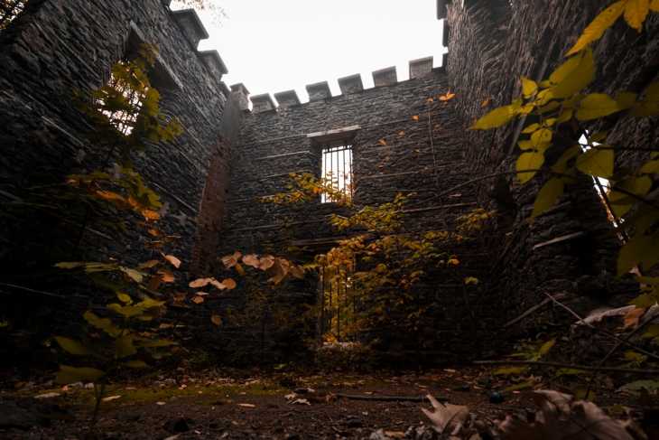 Warner Castle Sunken Garden