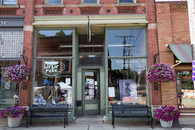 Harbor Perk, a Cozy Coffeehouse on the Historic Ashtabula Harbor