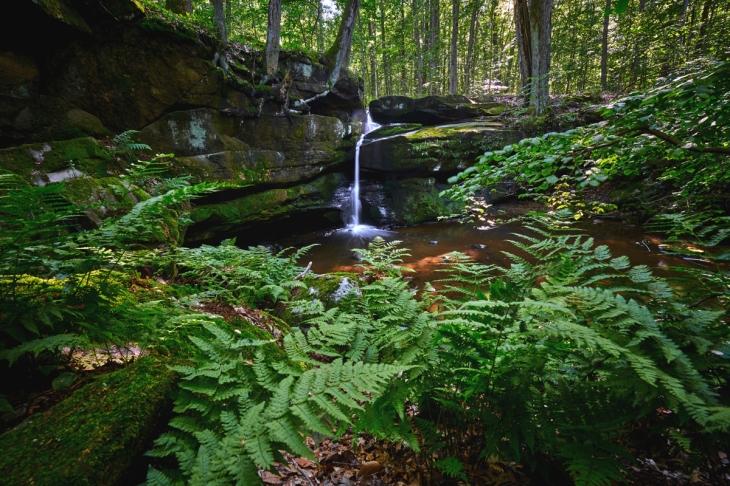Affelder Falls Ohio